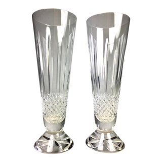 Waterford Glenmede Pilsner Glasses - a Pair For Sale