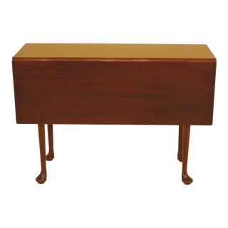 Kittinger Wa-1022 Colonial Williamsburg Mahogany Drop Leaf Table For Sale