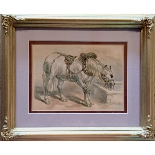 19th-C. Horse Book Plate by Fredrick Taylor - Image 2 of 3