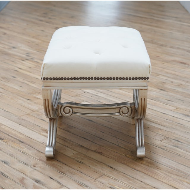 Eliza Tufted Stool by Frontgate Message from designer – Traditional elegance at its best as exemplified by this old-world...