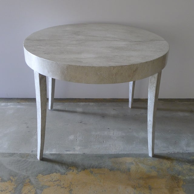 Restored Game or Dining Table in Drip-Glaze Finish - Image 2 of 11
