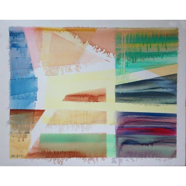 Alice Houston Paitning - Badlands - Image 1 of 4