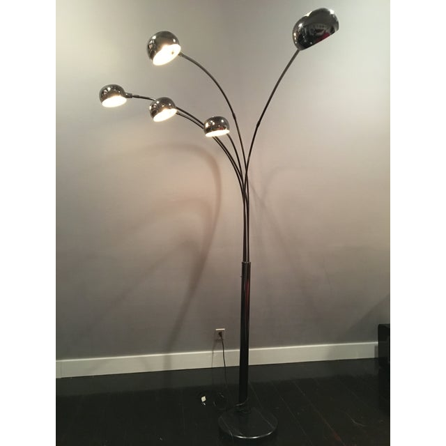Modern Mushroom Floor Light - Image 2 of 4