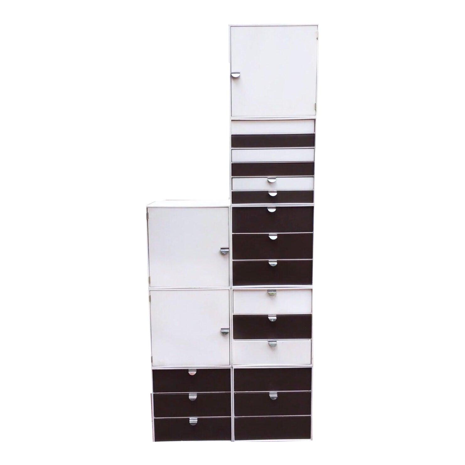 Palaset by r ratia for treston oy finland modular storage cube set chairish
