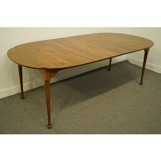 "20th Century Traditional Nichols & Stone Solid Cherry Classic Country Style 86"" Dining Table Preview"