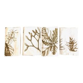Autumn German Linen Napkins, Set of 4 For Sale