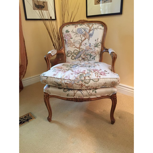 These are excellent Louis XV Style Chairs from famous furniture maker Meyer Gunther Martini (MGM). The condition is...