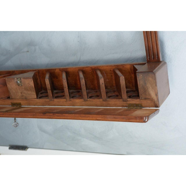 Brown Pool Cue Rack For Sale - Image 8 of 9