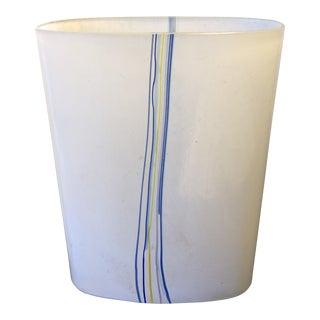 Bertil Vallien for Kosta Boda Smoky Glass Vase For Sale