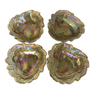 Vintage Iridescent Berry Bowls - Set of 4