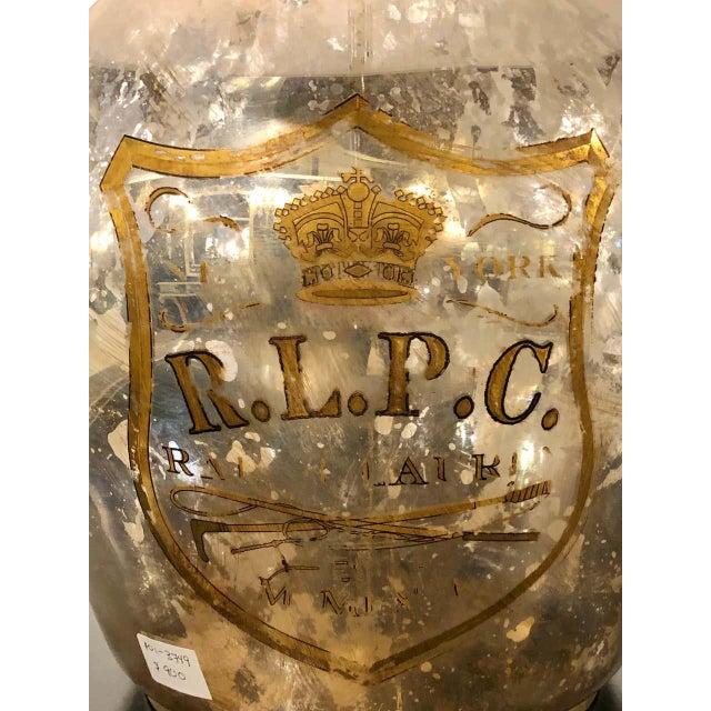 Ralph Lauren Mercury Glass Table Lamp For Sale - Image 11 of 12