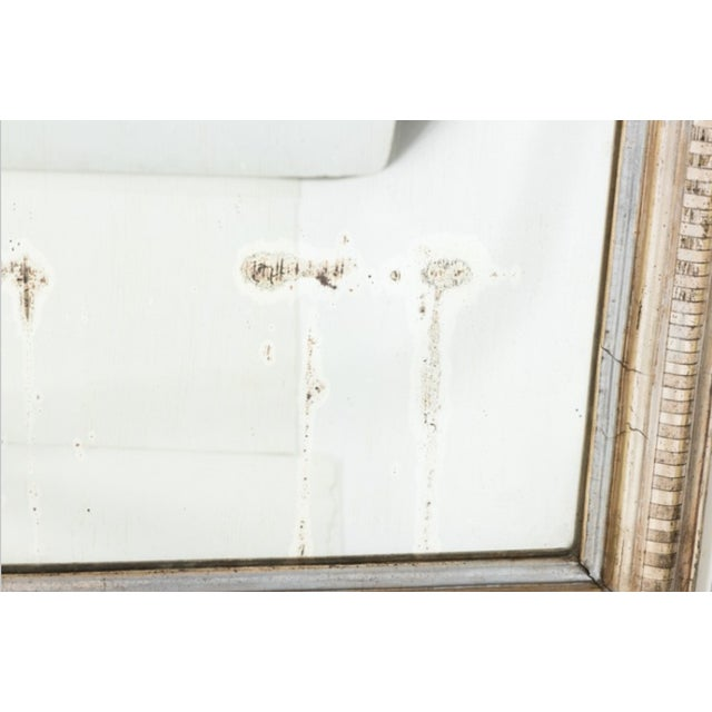 1850s Louis Phillip Silver Gilt Mirror For Sale - Image 4 of 7