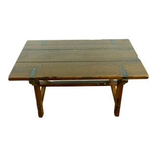 Primitive Wood Coffee Table