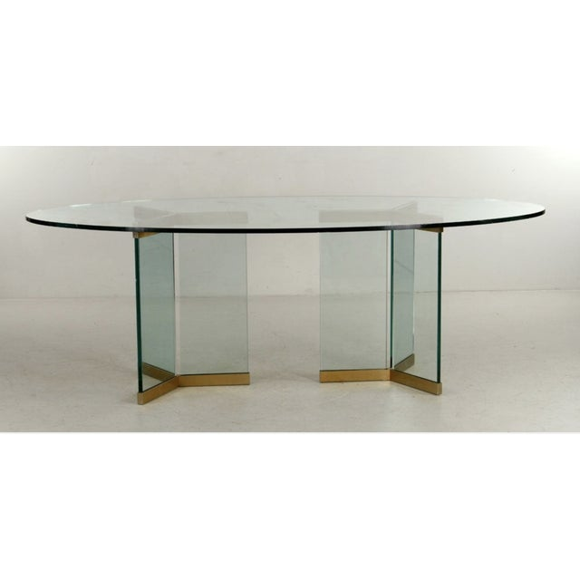 1970s 1970s Vintage Rosen for Pace Dining Room Table For Sale - Image 5 of 5