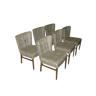Set of Six Paul Frankl Dining Chairs For Sale