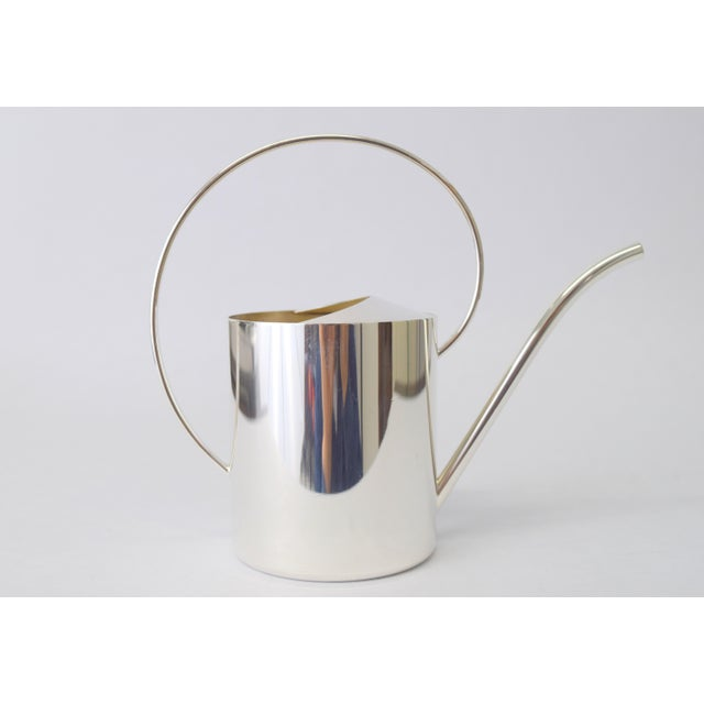 Exquisite Danish Silver Plate Creamer For Sale - Image 9 of 9