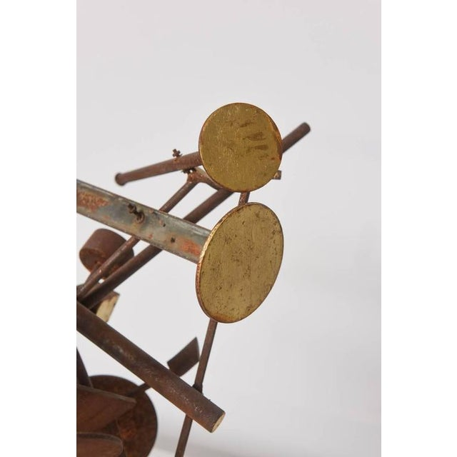 1960s Kinetic Dimensional Works, Abstract Expressionism Sculpture For Sale - Image 5 of 11