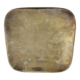 Mid-Century Modern Swedish Silverplate Dish For Sale