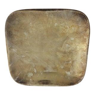Mid-Century Modern Swedish Silverplate Dish For Sale