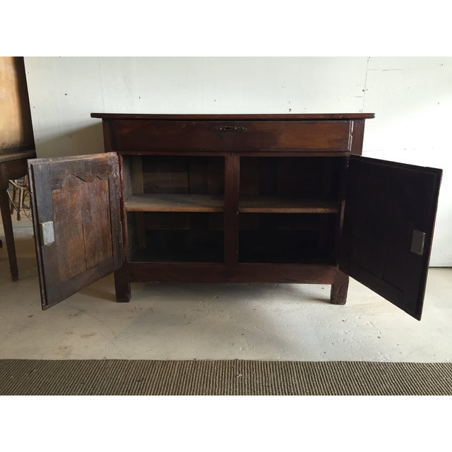 Antique French Country Walnut Cabinet - Image 4 of 11