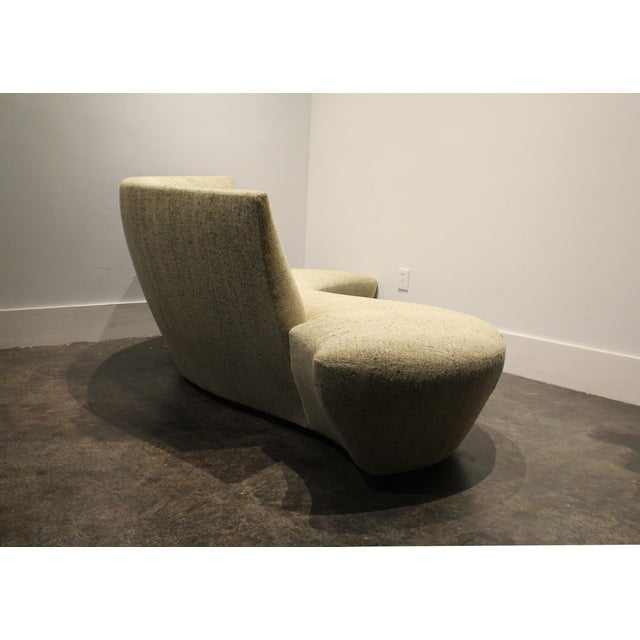 Yellow Large Sculptural Bilbao Sofa by Vladimir Kagan For Sale - Image 8 of 12