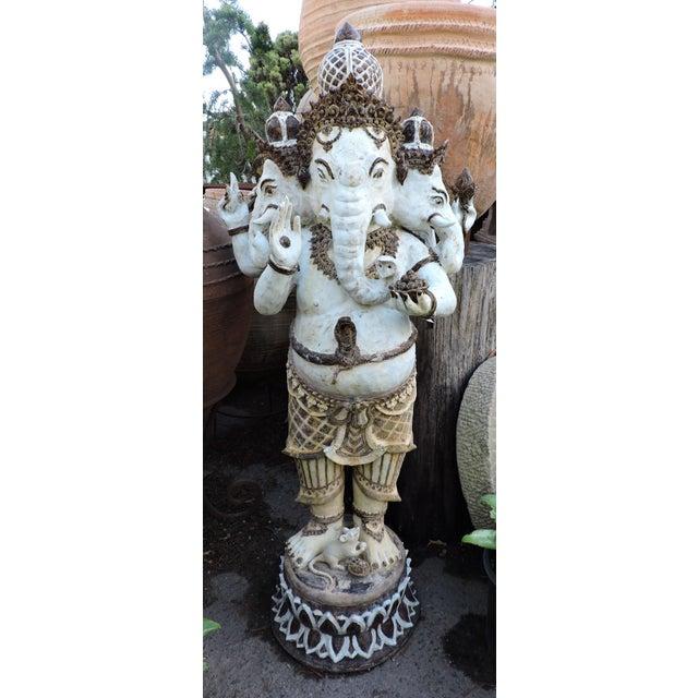 Glazed Ceramic Ganesh For Sale In San Francisco - Image 6 of 6