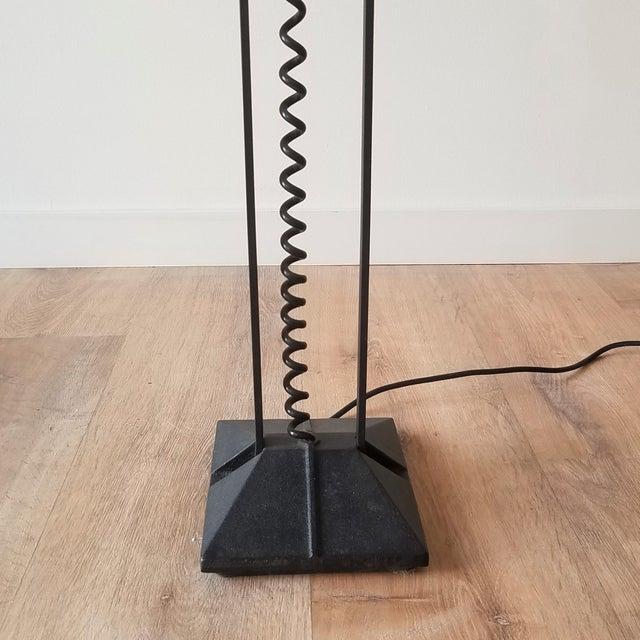 Black 1980s Artup Crane Floor Lamp For Sale - Image 8 of 13