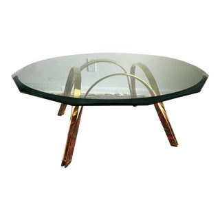 Roger Sprunger Style Cocktail Table by Tri-Mark For Sale