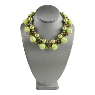 Lenora Dame Statement Necklace For Sale