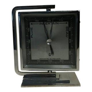 Vintage Art Deco Barometer For Sale