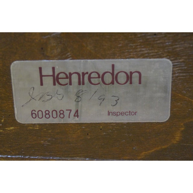 Henredon Charles X Burl Wood Sleigh Day Bed For Sale In Philadelphia - Image 6 of 8