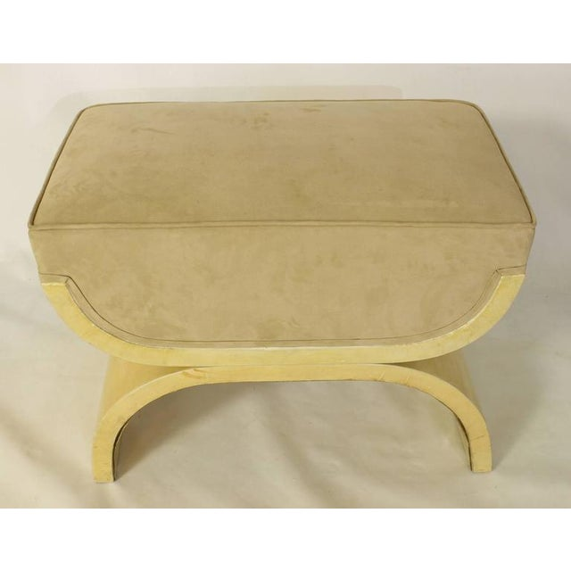 Art Deco Goatskin Stool For Sale In Richmond - Image 6 of 7
