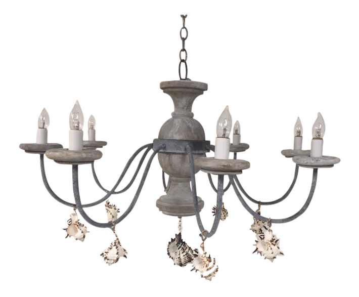 gently used vintage nautical furniture for sale at chairish Gold Interior Decor seaside 8 light tower chandelier