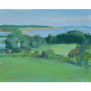 "Contemporary ""Surf N Turf"" Plein Air Painting by Stephen Remick For Sale"