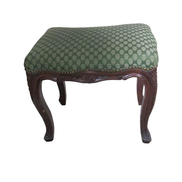 Antique Italian Carved Footstools - a Pair - Image 2 of 5