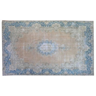 Vintage Persian Overdyed Rug - 9′9″ × 16′