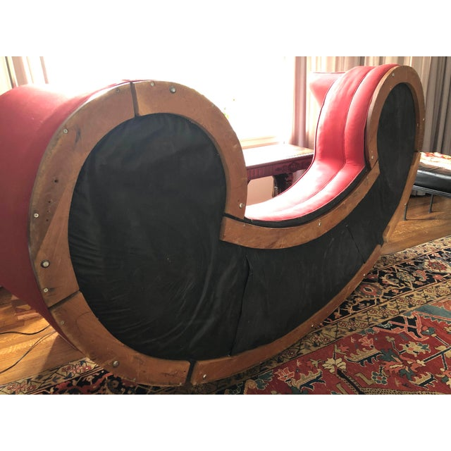 Mid-Century Curved Dunbar Oasis Sofa by Edward Wormley For Sale In Memphis - Image 6 of 9