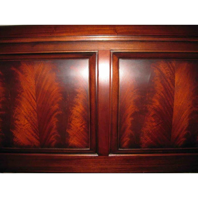 Ethan Allen King Sleigh Bed For Sale - Image 5 of 11