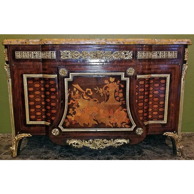 19th Century Louis XVI Commode After Reisener For Sale - Image 11 of 13