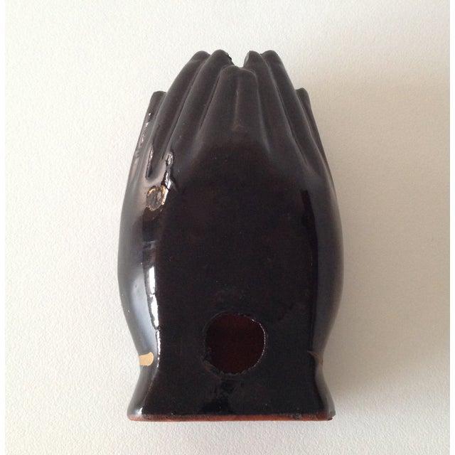 Vintage Individual Hands-Shaped Portable Ashtray - Image 7 of 8