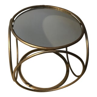 Mirror Top Thonet Footstool