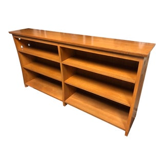 Vintage Mission Style Bookcase For Sale
