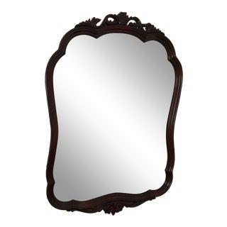 Antique Mahogany Decorative Mirror For Sale