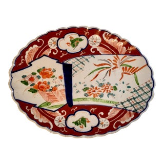 Antique 19th Century Imari Porcelain Platter