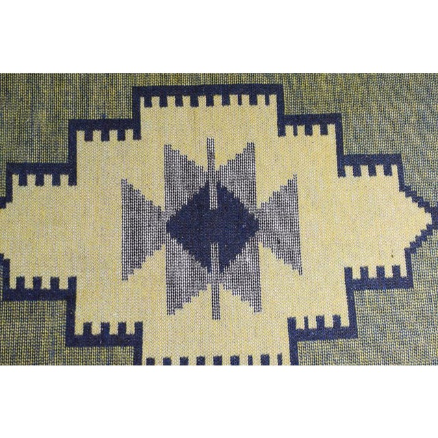 Handmade Vintage Kilim Rug - 4′4″ × 2′6″ For Sale - Image 12 of 13
