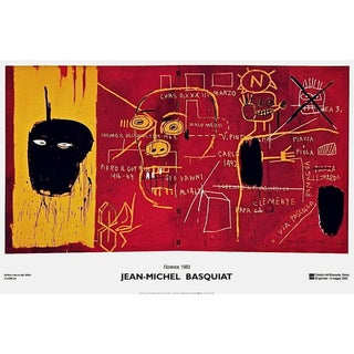 Florence(1983), 2002 Exhibition Poster, Jean-Michel Basquiat - LARGE For Sale