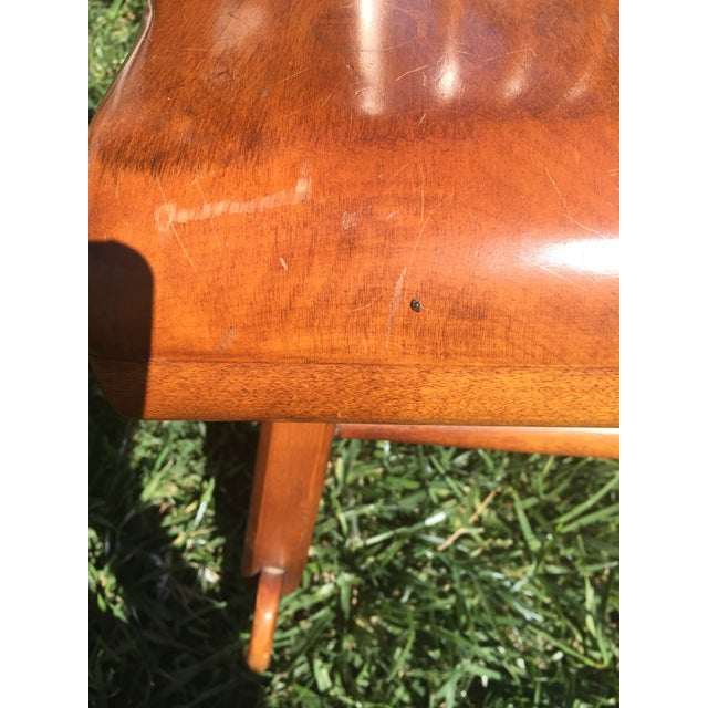 The Sikes Co., PA Sikes Arts and Crafts Maple Rocking Chair For Sale - Image 4 of 11