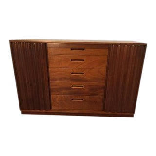 1950s Mid-Century Modern Edward Wormley Mahogany Cabinet For Sale