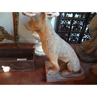 Antique Italian Terra Cotta Dog Statues - A Pair Preview