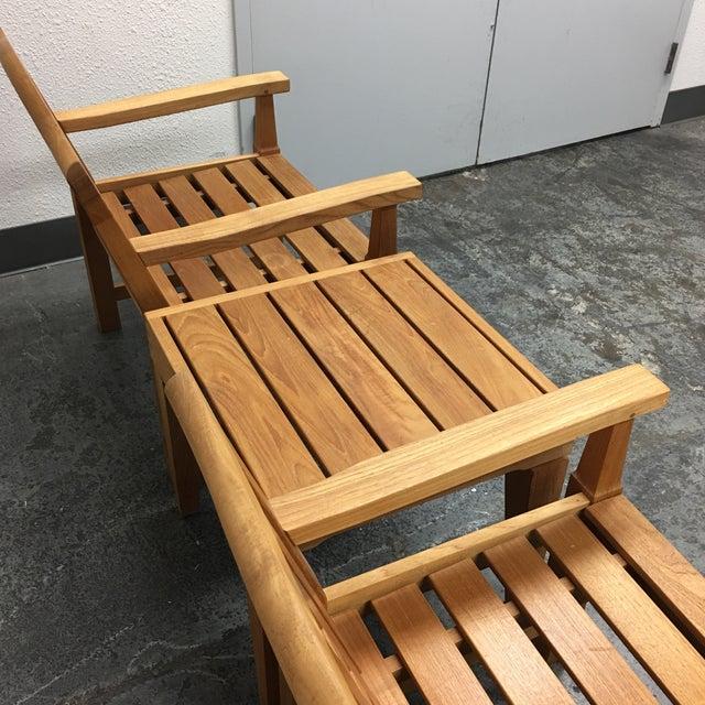 Smith Hawken Teak Lawn Chair Table, Smith And Hawken Teak Patio Furniture